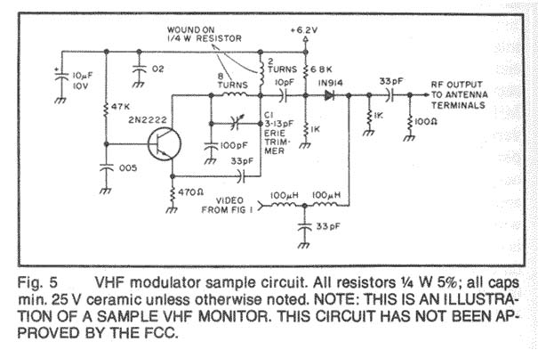 video related circuit schematics circuit diagrams including video