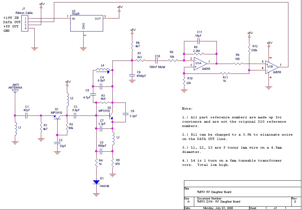 Radio-frequency RF circuit diagrams (also see RF Amplifier and ...