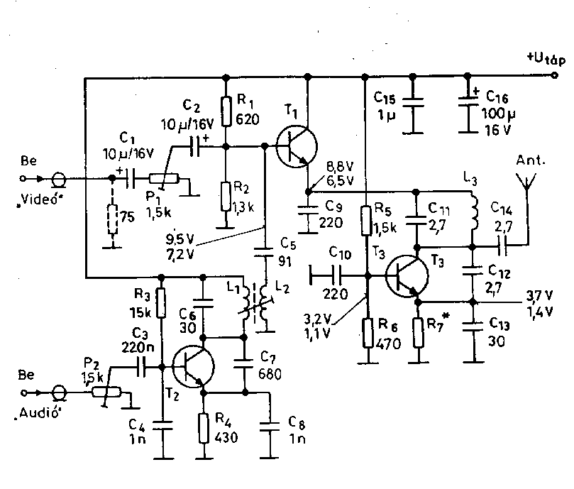 video related circuit schematics    circuit diagrams